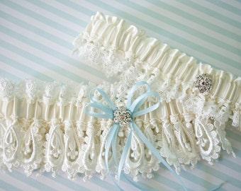Wedding Garter Set, Ivory Garter Set, Garters, Bridal Garter Set, Bridal Garters