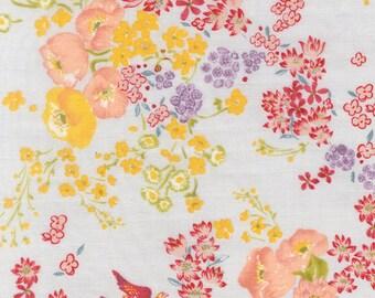nani IRO Double Gauze Fabric - 2015 En Garden, Bi - Half Yard
