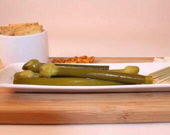 Leek Scape Pickles