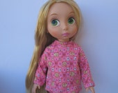 """Clothes for Disney Princess Animators Toddler 16"""" Doll Top and Pants"""