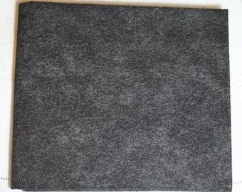 Tonal Black Cotton Quilt Fabric  - Fat Quarter (fq091)