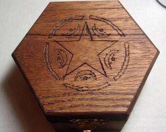 Hexagonal Pagan Box
