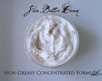 Large Size Shea Butter Cream For Face Hands Body And Hair Organic Fair Trade