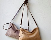 free shipping - Wristlet Clutch large - crossbody pocket clutch - select leather
