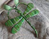 Dragonfly statement neckl...