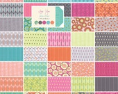 """Moda FOR YOU Precut 5"""" Charm Pack Fabric Quilting Cotton Squares Zen Chic 1570PP"""