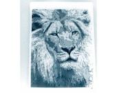 Lion Glass cutting board, lion art, Cecil memory, Lion Trivet, wildlife gift, Lion gift, Lion glass, Lion Art