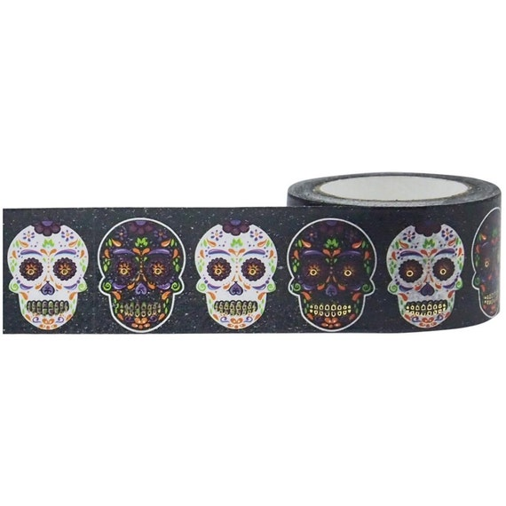 Sugar Skulls Washi Tape Little B Foil Tape Sugar Skulls