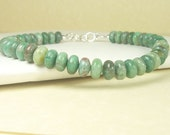 Reserved for Pete. Nobody else buy this item please. Men's African Jade Bracelet. Sterling Silver.