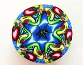 Polymer Clay Cane - Kaleidoscope Cane - Carnival