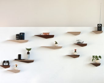 Peliship Floating Shelves - Maple Medium