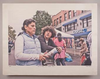 Cheap Shots: Kid on Bike at Street Fair