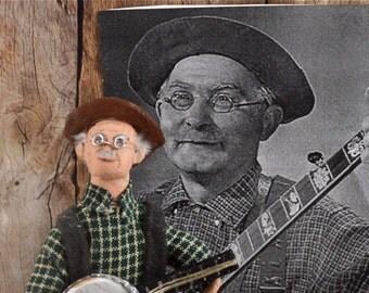 Louise Marshall Jones Doll Miniature Country Music Star Doll Miniature Art