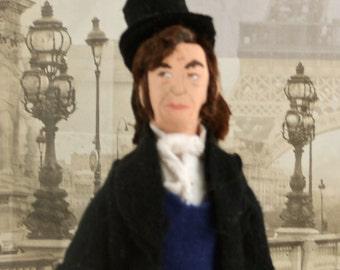 Classic Literature Art Doll  Miniature The Mayor of Casterbridge by Thomas Hardy