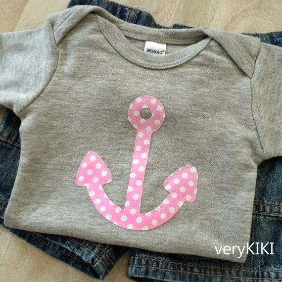 Items similar to Nautical Newborn Baby Girl Clothes