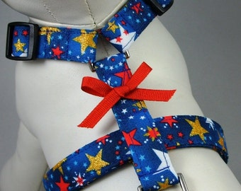 Dog Harness - Patriotic Sparkle