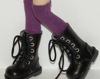 Tall Purple Socks For Blythe...One Pair Per Listing...