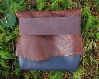 Plum Light Traveler Eco Leather Pouch