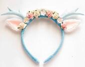 Blue Deer Headband