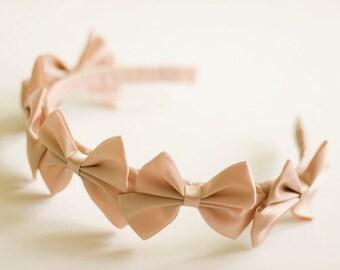 Tea Bow Headband