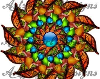 Autumn Riches, Mandala