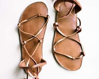 CHOCOLATE Sandals, Bella Caribe Style, Your choice of color