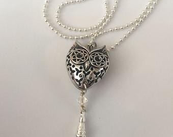 Owl Lanyard, Teacher gift, Owls Mascot