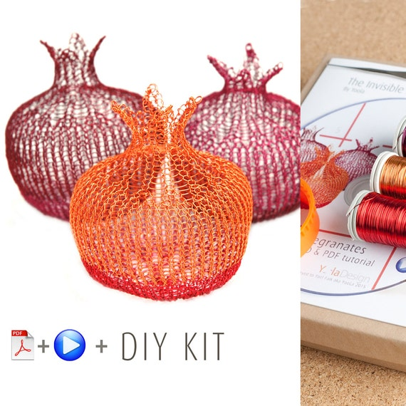 Home Decor Ideas Craft Kit Pomegranate Diy Kit Home