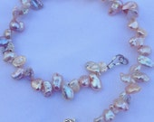 Pink Keshi Pearl Bracelet