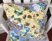 Massachusetts Pillow Cover