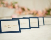 Custom Escort and table cards