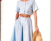 Butterick 4168 und Kleid-Schnittmuster-Size 16 18 20 22 24 ungeschnitten