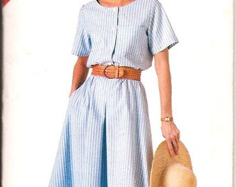 Butterick 4168 Plus Dress Sewing Pattern Size 16 18 20 22 24 UNCUT