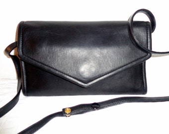 Marissima  rich chunky wallet sling bag cross body bag organizer   buttery soft  oiled leather vintage Mint codition