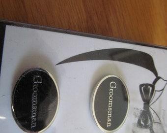 Groomsman cuff links