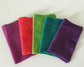 Felted Wool, Wool Applique, Wool Felt, Wool Fabric