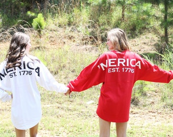 Personalized Preppy 'Merica Jersey