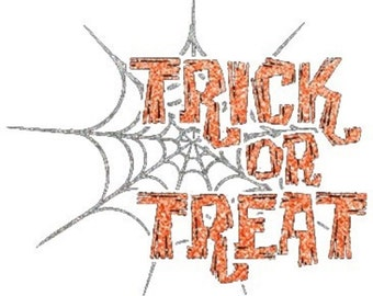 Womens Short Sleeve Tee Shirt Trick or Treat Sizes Small - 3XL Halloween Plus Sizes Too Free Shipping New Costume Pumpkin Metallic