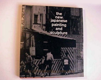 Japanese Painting and Sculpture Art Book Hardcover Artist Printed In The USA Oil Acrylic Drawing Assemblage Canvas Ink Paper Plaster Wood