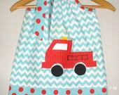 dress Fire truck dress  SALE 10% off code is tiljan  chevron fire truck dress fire fighter  dress 3,6,9,12,18 month 2t,3t,4t,5t,6.7.8