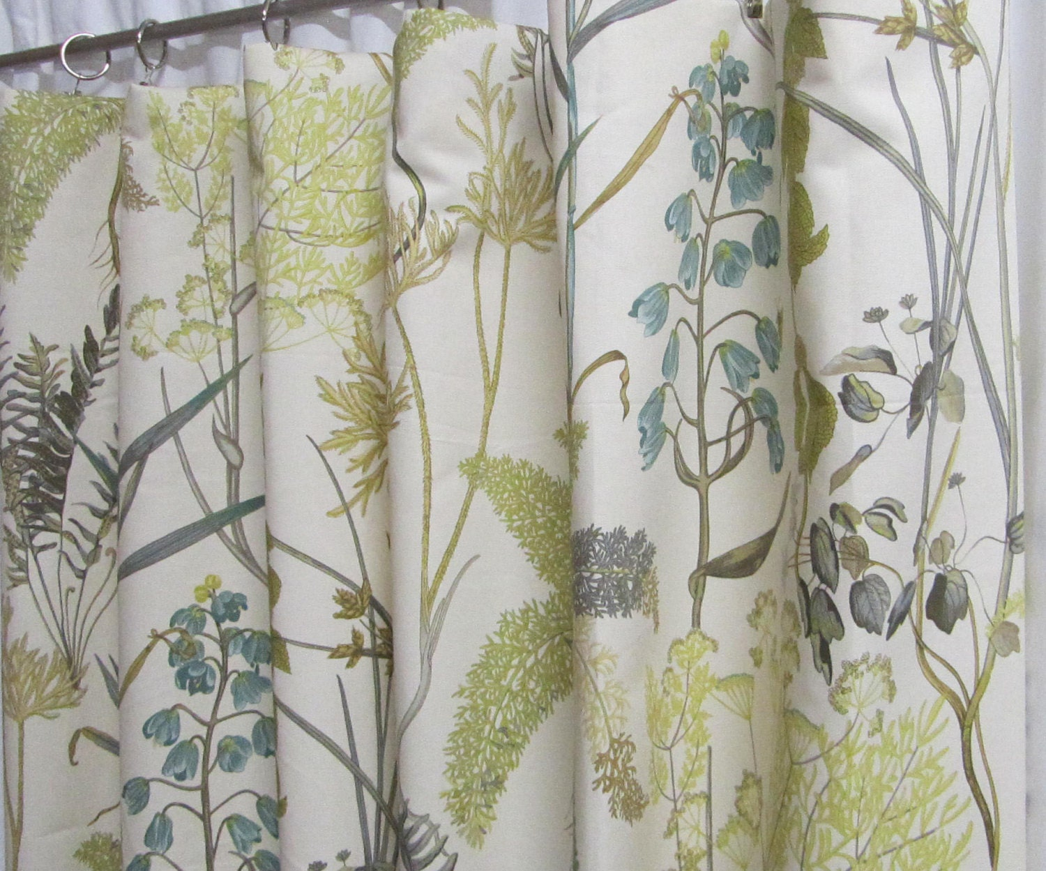 Neutral Window Curtains Botanical Inspired by asmushomeinteriors