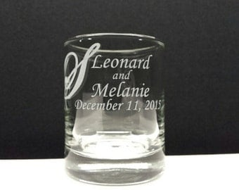 48 Personalized Favors Custom Engraved Glass Votive Holders Surname Spring WeddingCandle Holder Decor Table Decorations Engraved Glass Favor
