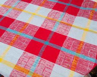 great barkcloth tablecloth