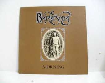 Bordersong Morning Folk Psych Rock LP Vinyl Record Private Label
