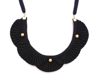 SALE - Nami Wave Long Cord Necklace