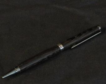 Handmade slim line pen
