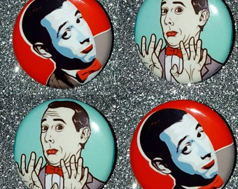 PeeWee Herman 1.25in button pin badge