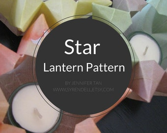 Star Lantern Pattern - pdf