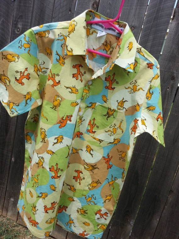 Youth Boys Organic Cotton Button Down Dress By Mumtazcreations