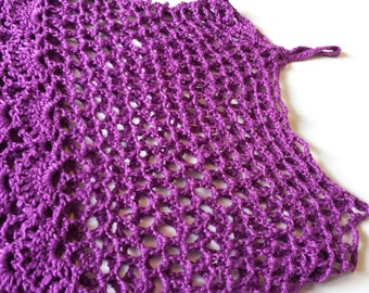 Crocheted Floral Cami